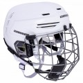 Warrior Alpha One Pro Hockey Helmet Combo